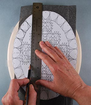 how to trace a pattern to wood
