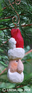 free wood carving santa pattern