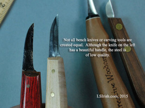 high quality steel bladed bench knives for relief wood carving
