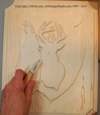 Finding the Levels in a wood carving relief pattern