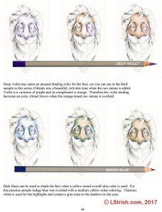 Adult Coloring Portrait Pages