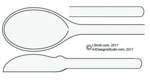 basic wooden spoon pattern