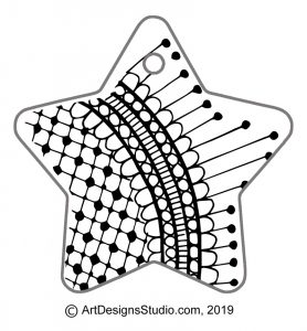 free doodle pattern