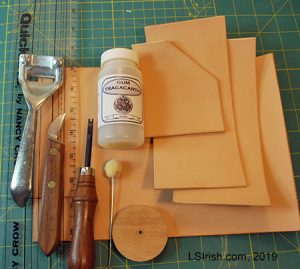 leather pyrography, leather burning