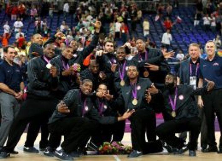 USA Men's Basketball Ceremony London, 2012