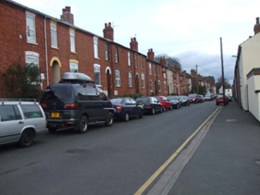 """""""Alexandra Terrace in Lincoln"""" by Ashley Partridge"""