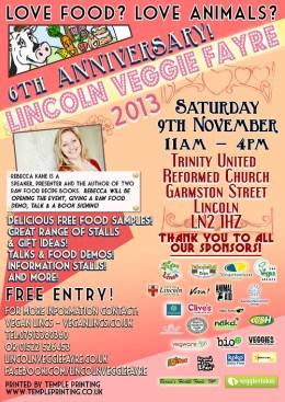 Lincoln Veggie Fayre Poster