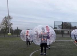 Bubble football Zorb. Photo: Airball Ltd