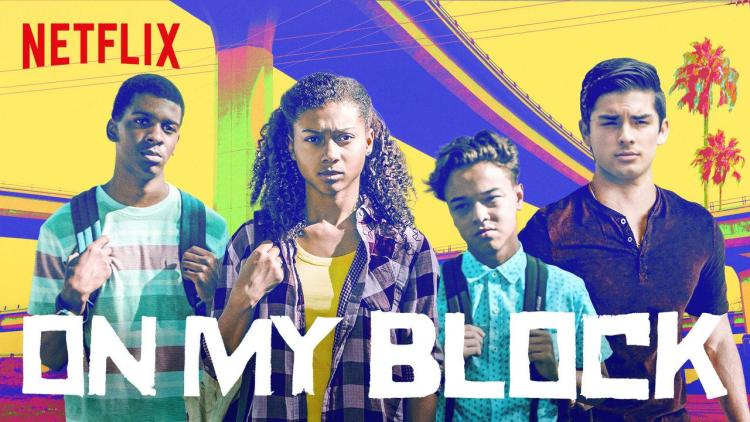 On My Block poster. Photo: Netflix