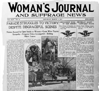 Woman's Journal and Suffrage News