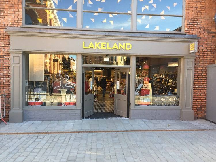 The new Lakeland shop in the Cornhill Quarter