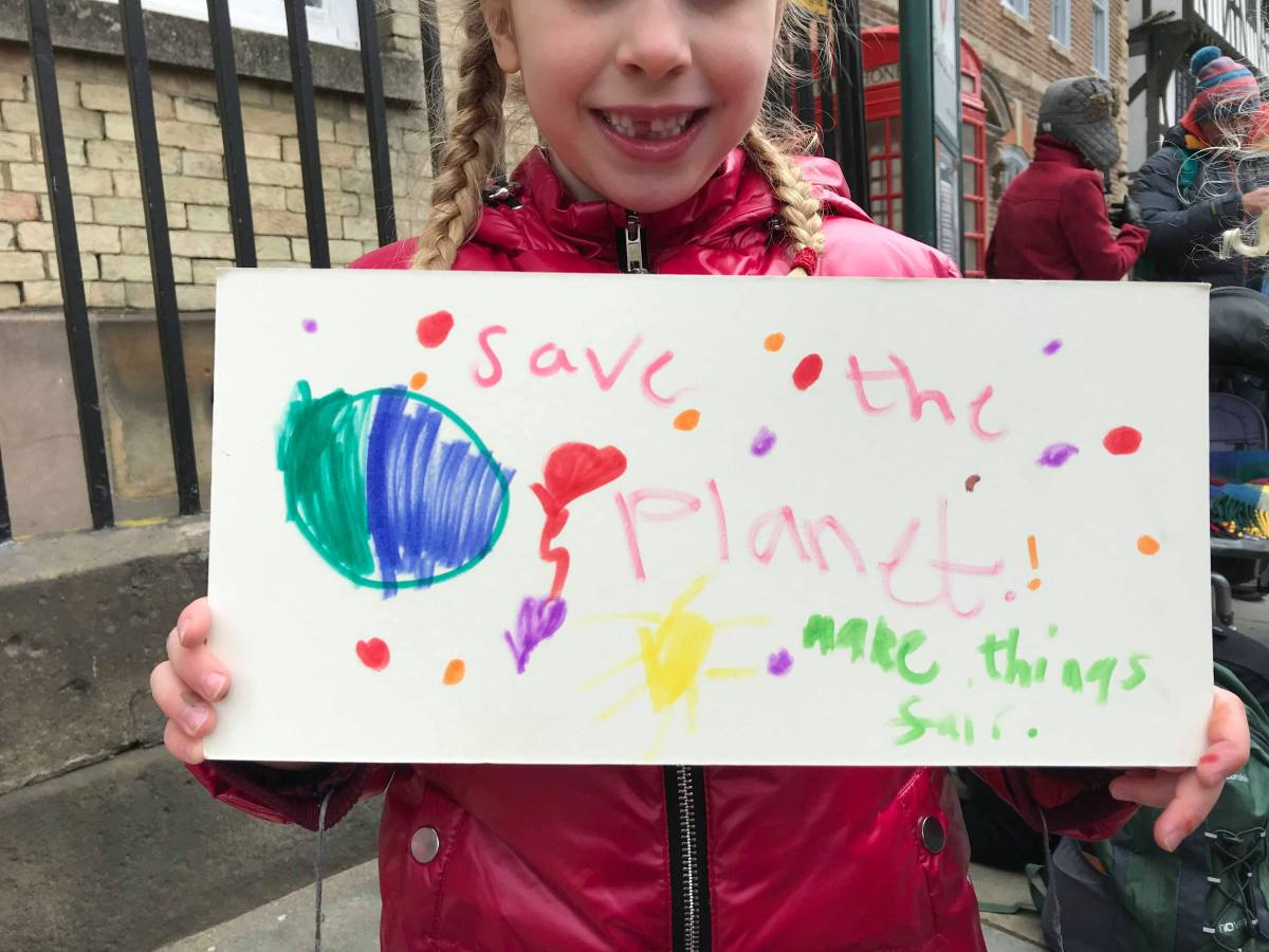 Lincoln students skip school to protest against climate change