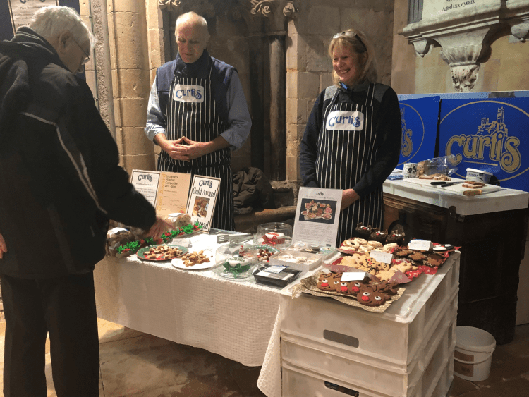 Curtis of Lincoln Bakery has recently started selling its baked goods in the Lincoln Cathedral shop.