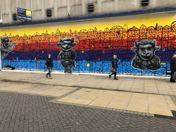 Lincoln mural completed