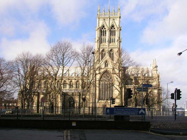 St George's Church, Doncaster Town Centre