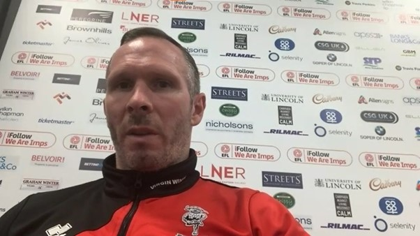 Lincoln City Manager, Michael Appleton. Photo: Joe Griffin