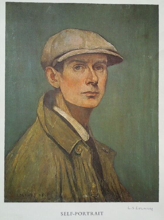 L S Lowry Lowry Portraits Fine Art
