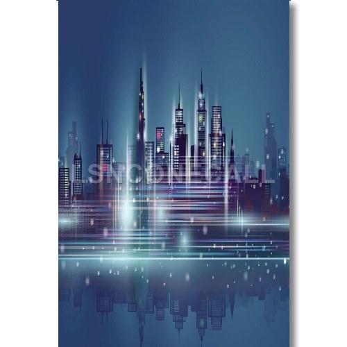 Skyscraper Custom Poster Print Wall Decor