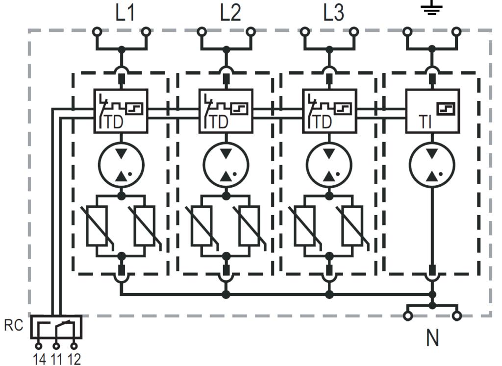 Lightning and Overvoltage Protection 25 kA Series ProTec