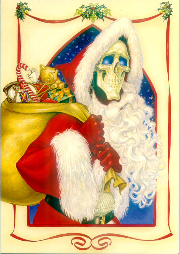 Paul Kidby Discworld Christmas Cards