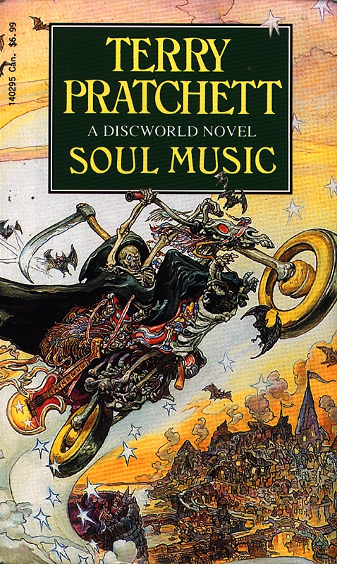 Soul Music Book Covers