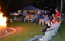 Chili Fest bon fire