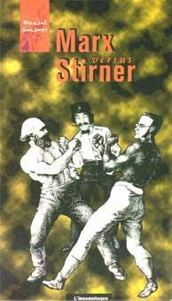 Buchtitelseite Daniel Joubert, Marx versus Stirner