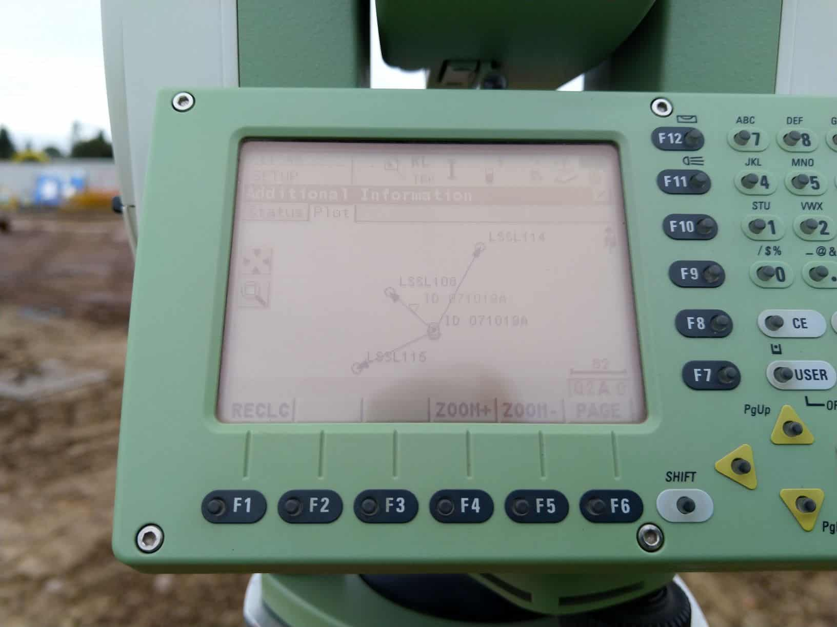 Guide to Doing a Resection with a Total Station