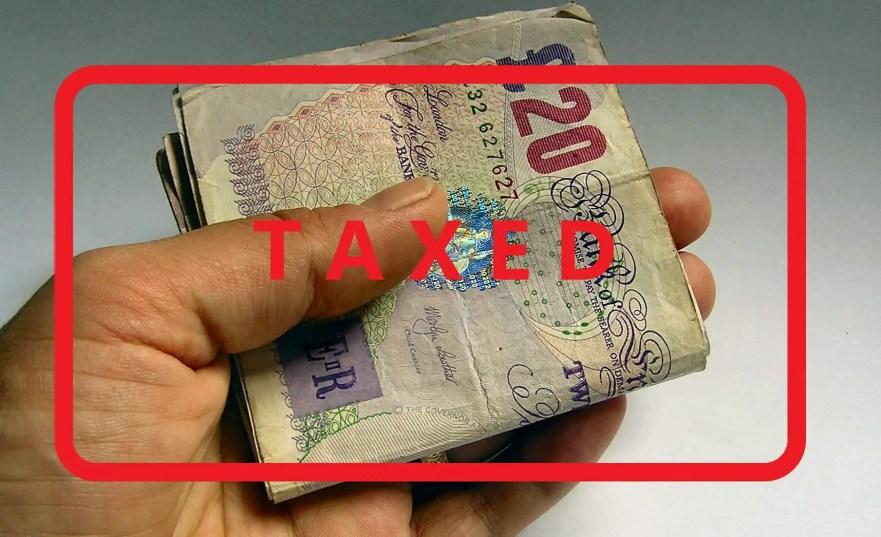 IR35 Taxed Money