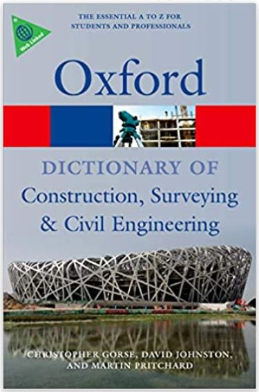 construction industry book, best construction industry book, oxford dictionary of construction surveying and civil engineering, construction industry book for beginners
