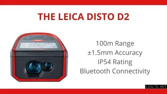 Leica Disto D2 Laser Tape Measure