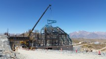 Construction Update Large Synoptic Survey Telescope