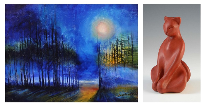 Dimensions in Color: The Art of Maria Lyle and Lisa Garner