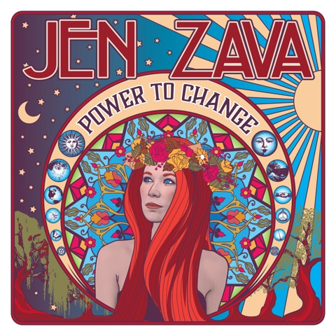 """Indie rock artist Jen Zava announces release of her debut album, """"Power To Change"""", with official release party on Thursday, June 1"""