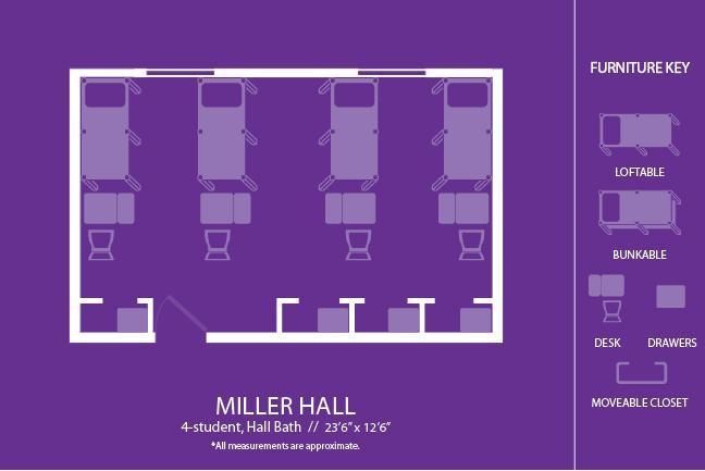 Miller Hall  LSU Residential Life