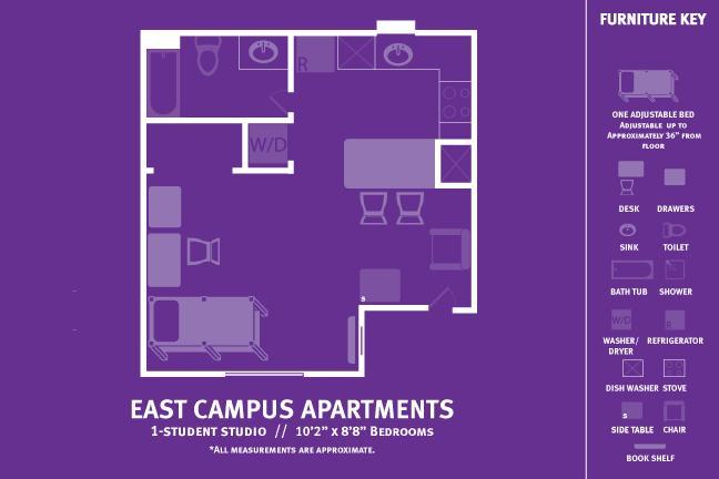 Eca Single Student Apartment