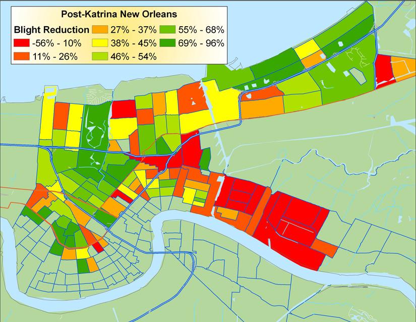 Hurricane Katrina Damage Map