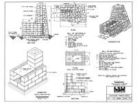OUTDOOR GRILL FIREPLACES BUILDING PLANS « Floor Plans
