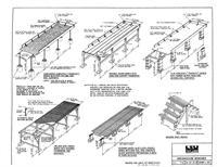 Greenhouse Bench Plan PDF Woodworking