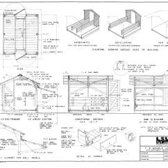 4 H Pig Diagram 1997 Honda Crv Wiring Swine Movable Hog House With Removable Farrowing Stall