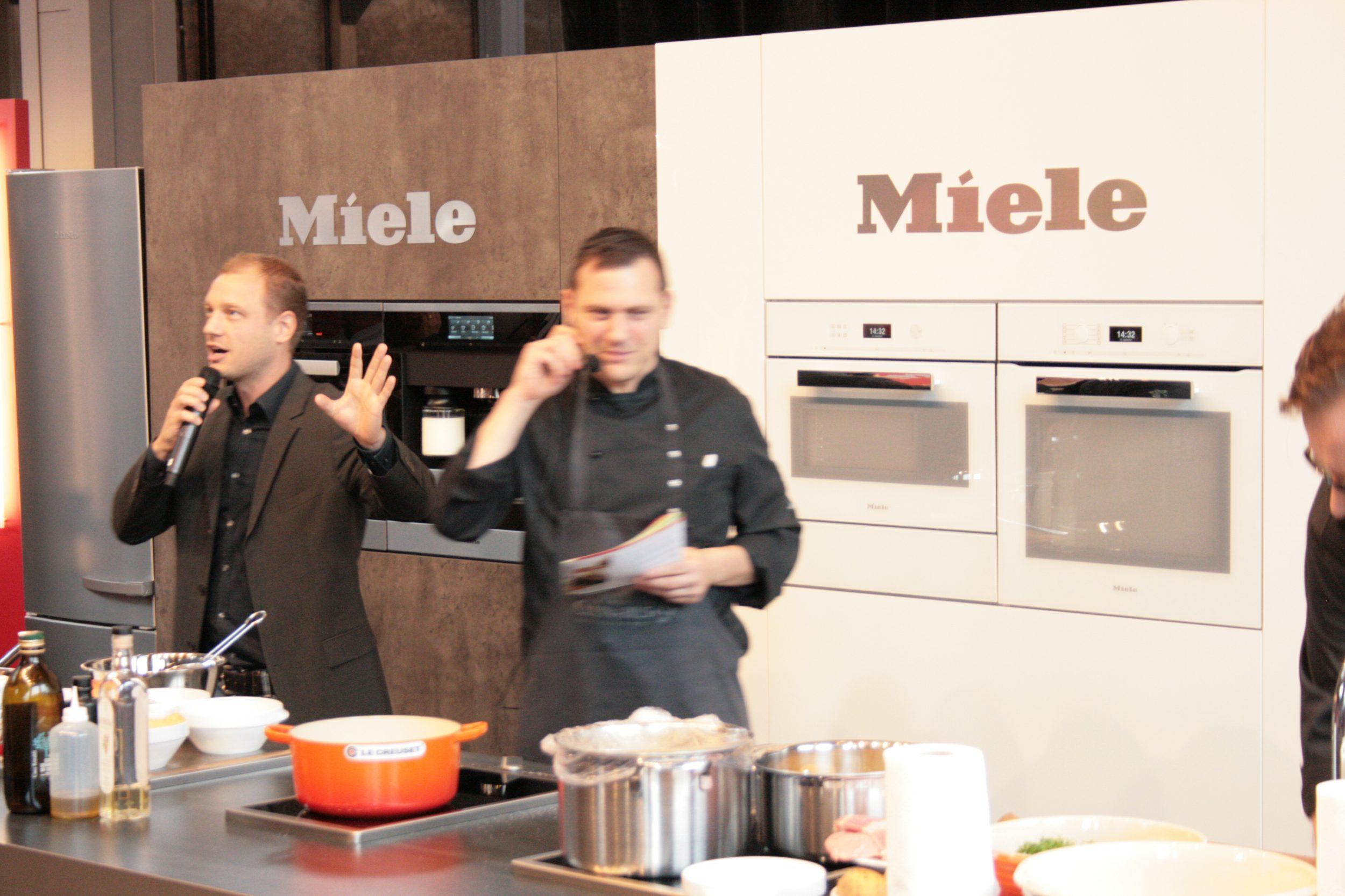 Kulinart Frankfurt, Kochshow für Miele