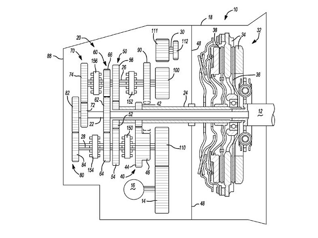 GM Patents Dual-Clutch 7-Speed Transmission, Destined for