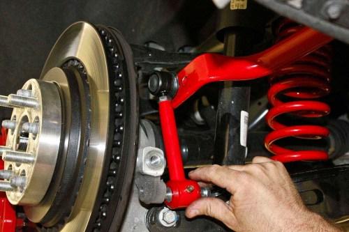 small resolution of upgrading a sixth gen camaro s suspension with bmr 95 camaro suspension diagram labeled