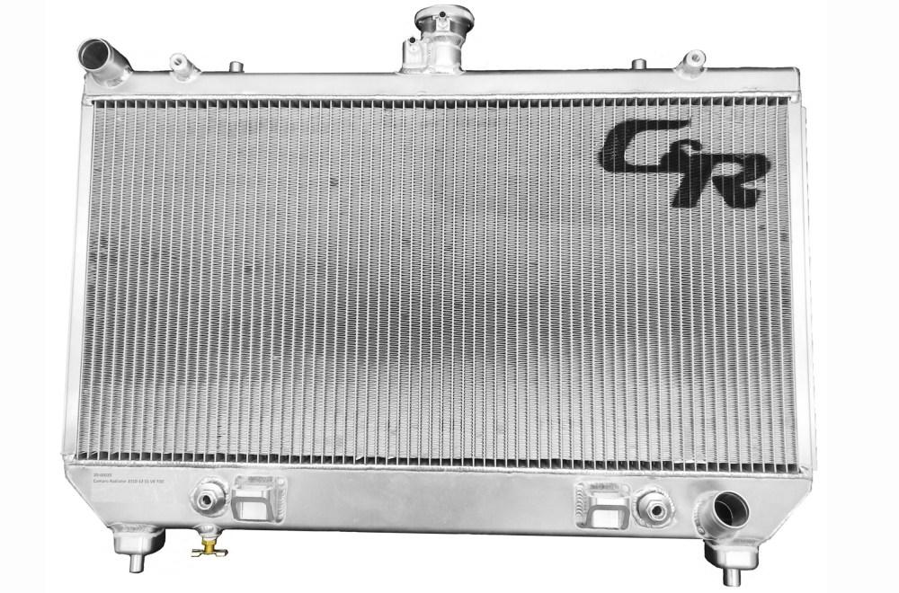 medium resolution of c r radiators direct bolt in radiators for your street machine