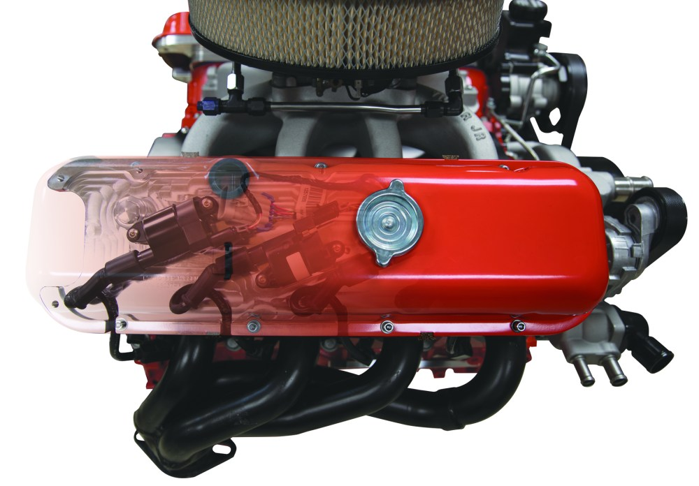 medium resolution of ls valve covers from billet specialties adds a big block chevy look