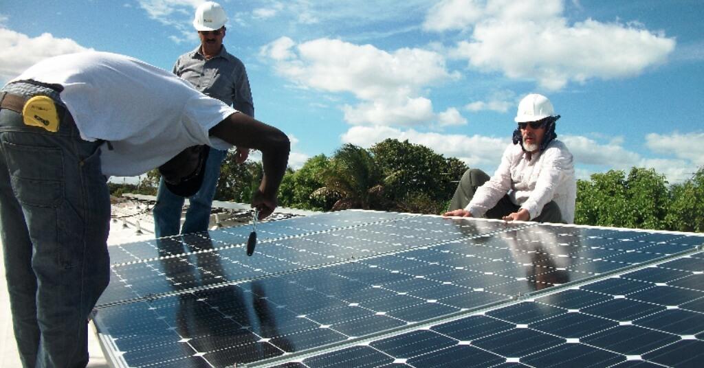 Solar power Las Terrenas Samana Dominican Republic