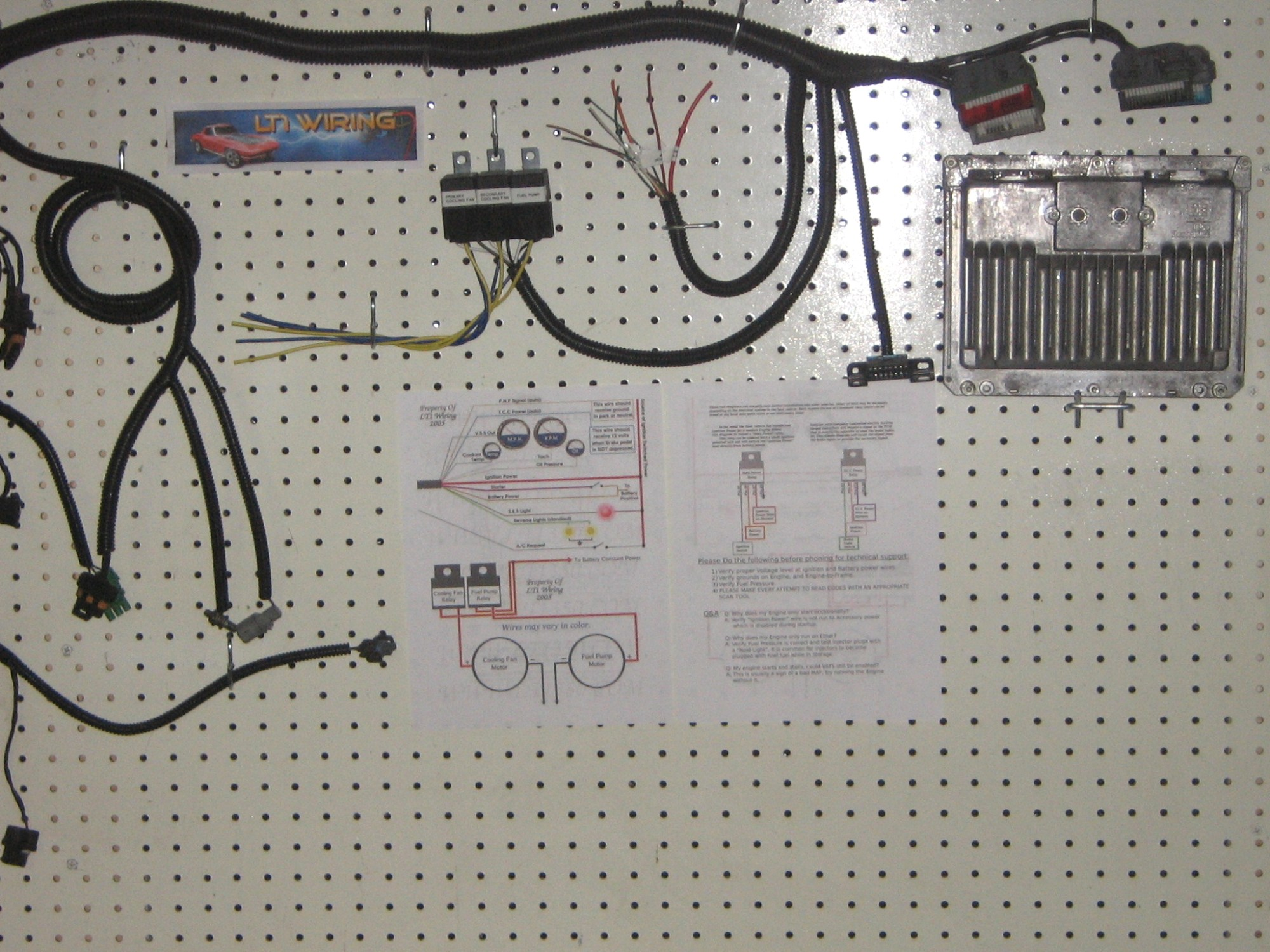 hight resolution of lt1 wiring harness and pcm stand alone process by lt1 wiring ebay rh ebay com lt1 swap harness mercruiser 4 3l vortec wiring harness