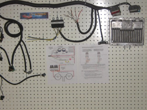 small resolution of lt1 wiring harness and pcm stand alone process by lt1 wiring ebay rh ebay com lt1 swap harness mercruiser 4 3l vortec wiring harness