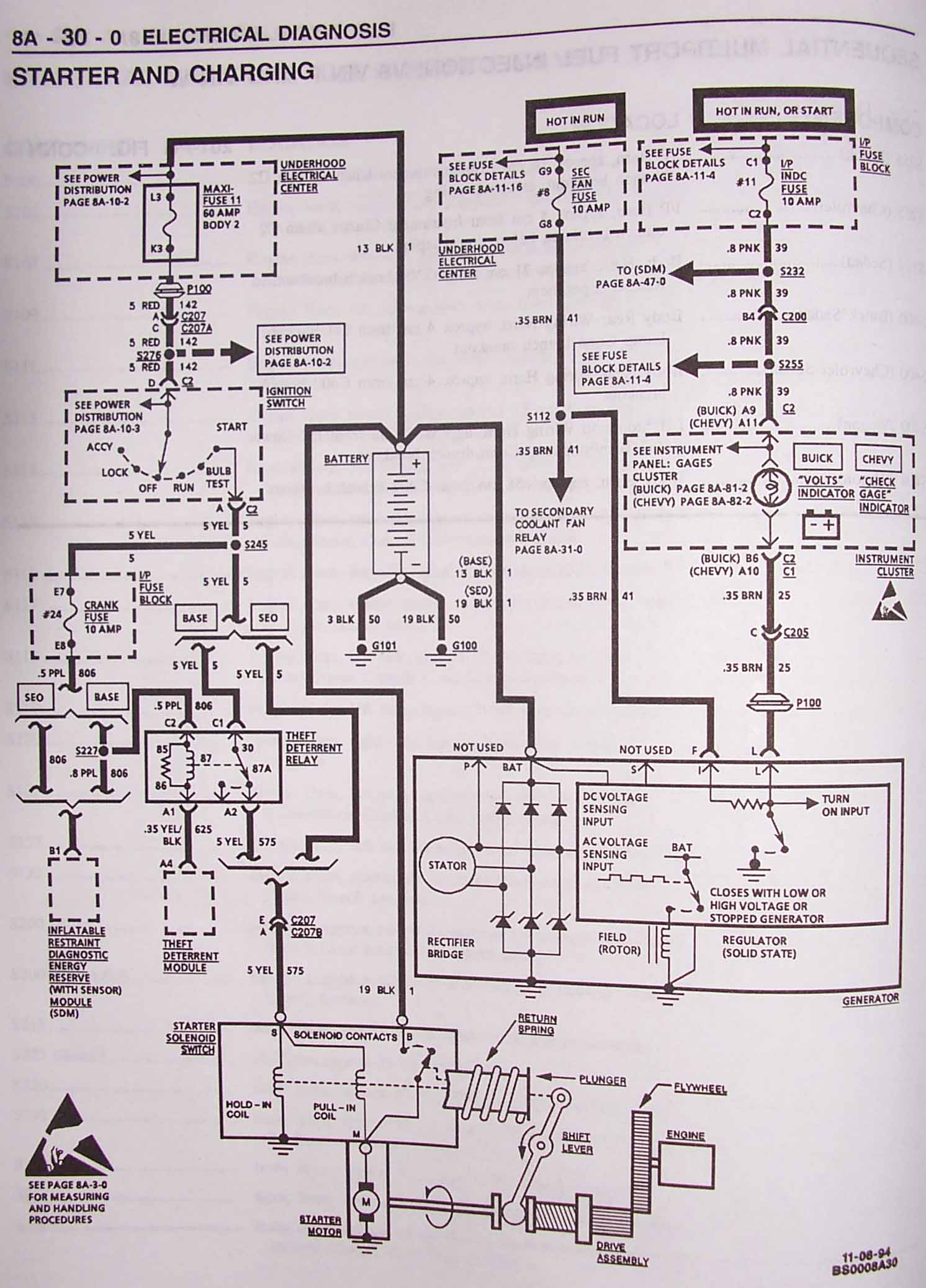 Lt1 Swap Wiring Diagram Cs130 Alternator - DIY Enthusiasts Wiring ...
