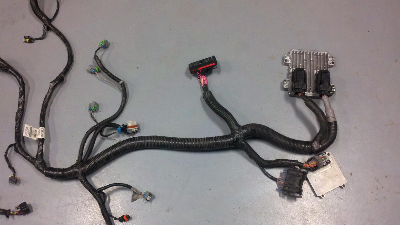 hight resolution of wiring harnes for truck